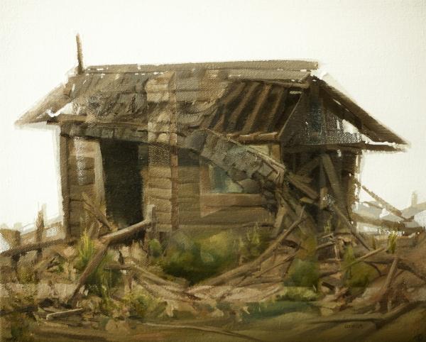 Structure Study 10-17-17 by Artist Daniel Ochoa