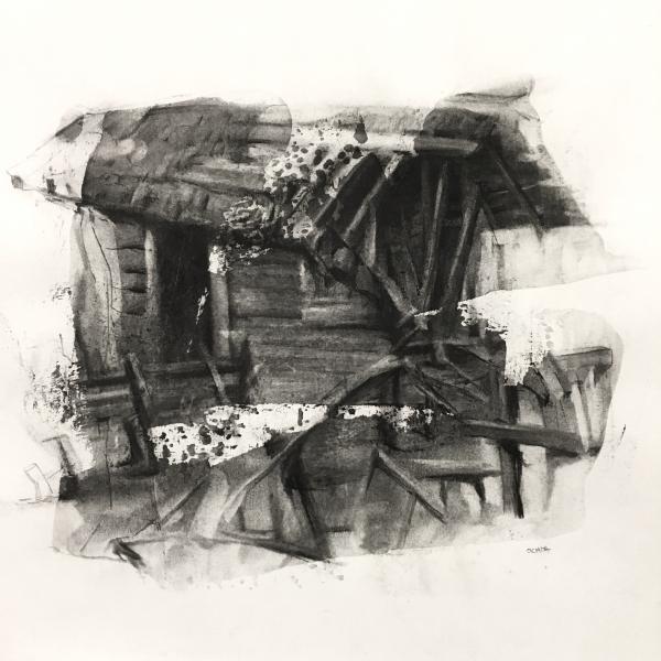Structure Study10-22-17 by Artist Daniel Ochoa