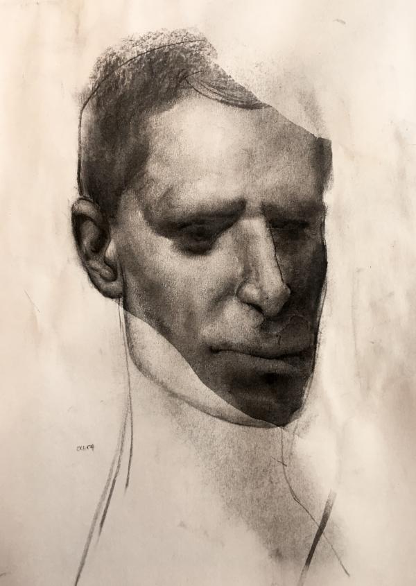 Portrait 10-30-18 by Artist Daniel Ochoa