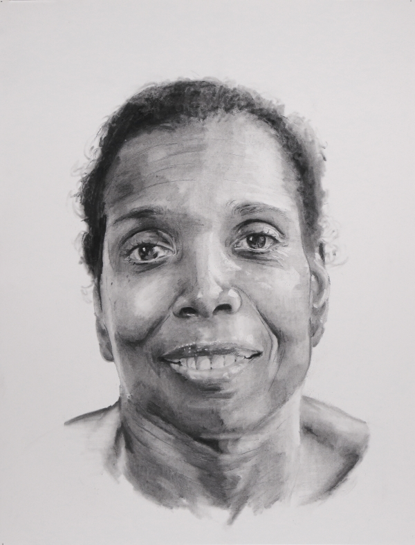 Carol Crawford Drawing by Artist Patrick Earl Hammie