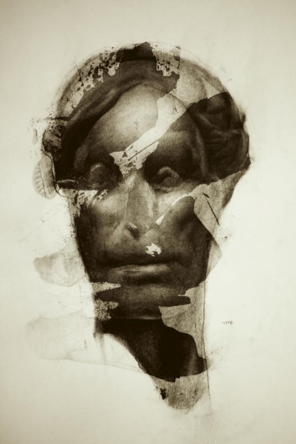 Met Study 12-05-17 by Artist Daniel Ochoa