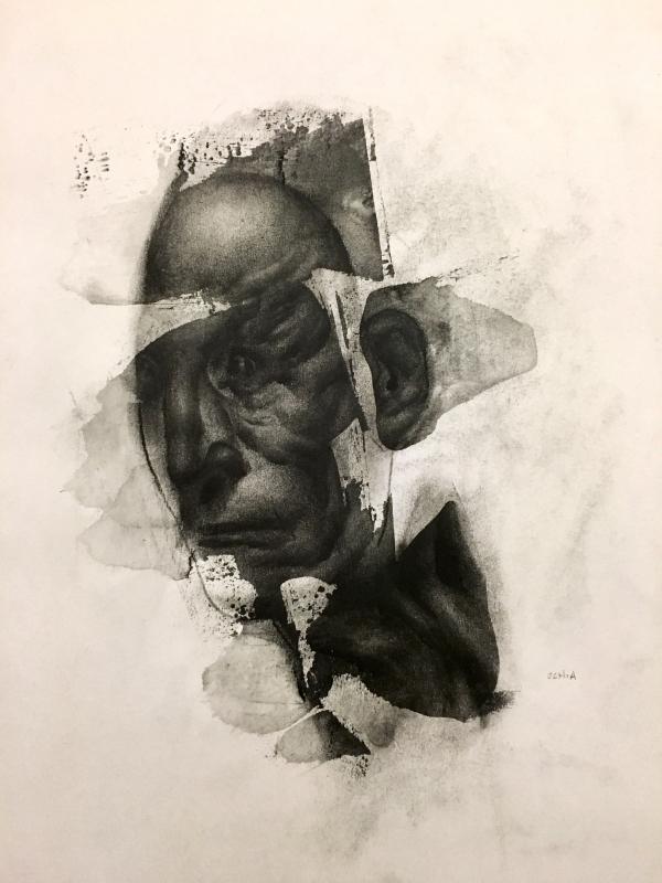 Drawing Study 12-27-17 by Artist Daniel Ochoa