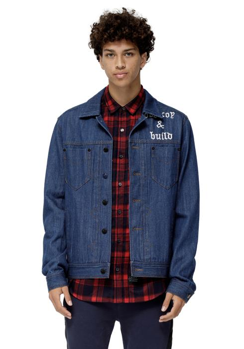 Konus Pine Men Clothing Denim Jacket