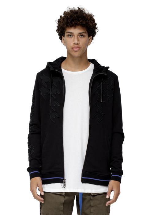 Konus Rey Zip Up Men Clothing Hoodie
