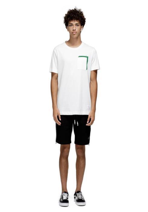 Konus Sweat Shorts with White Tape on Side