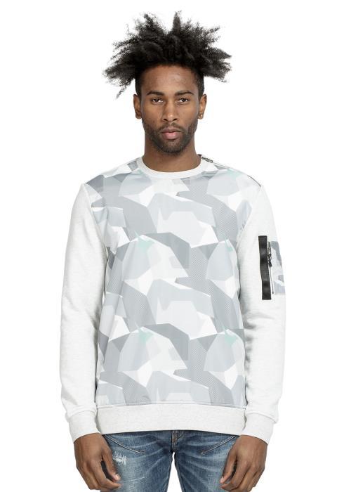Konus Crewneck Sweatshirt with Camo on Front Body