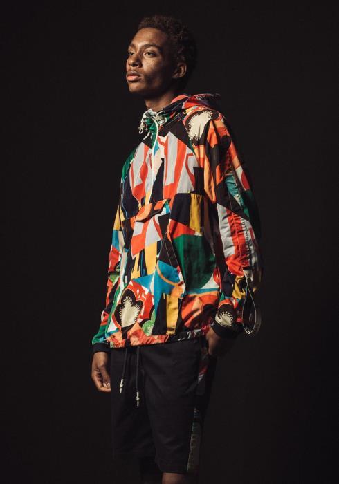 Konus Hooded Nylon Anorak Jacket
