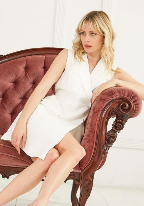 Ro&De Noir Vest Dress Women Clothing