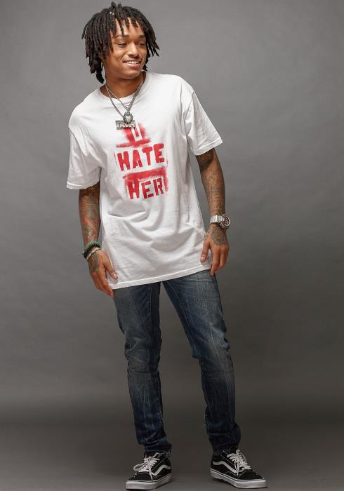 Rowdy I Hate Her Men Clothing Tee