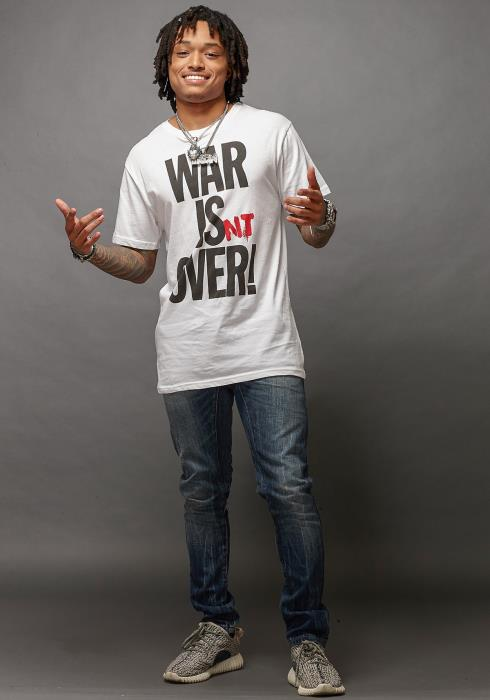 Rowdy Men Clothing War Is Not Over Tee