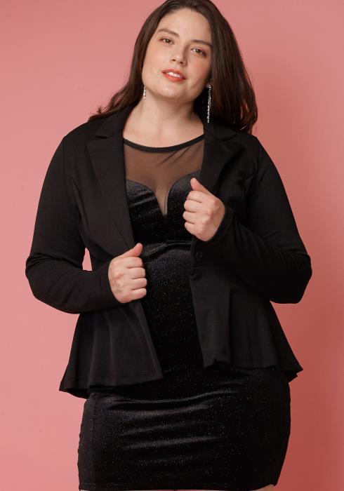Asoph Plus Size Essential Formal Blazer