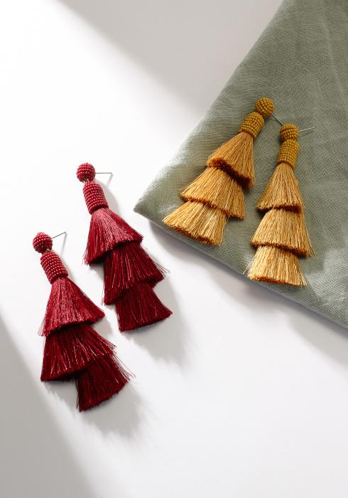 Tassel Statement Earring