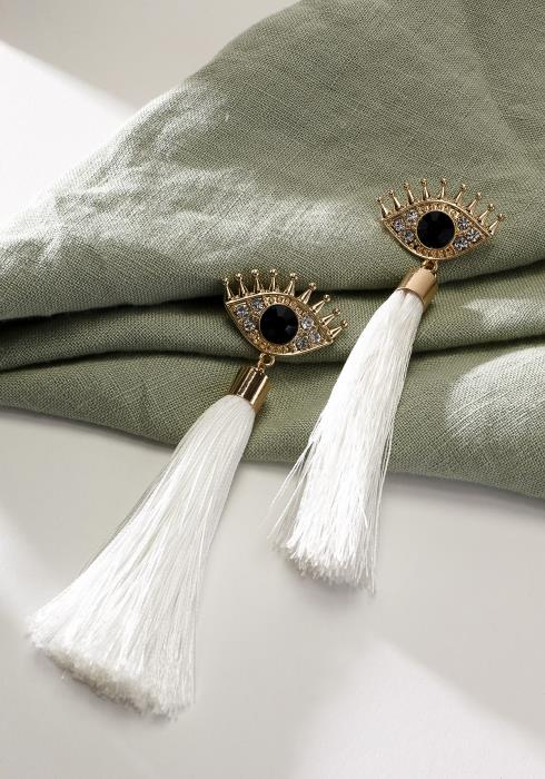 Tassel Eye Earring
