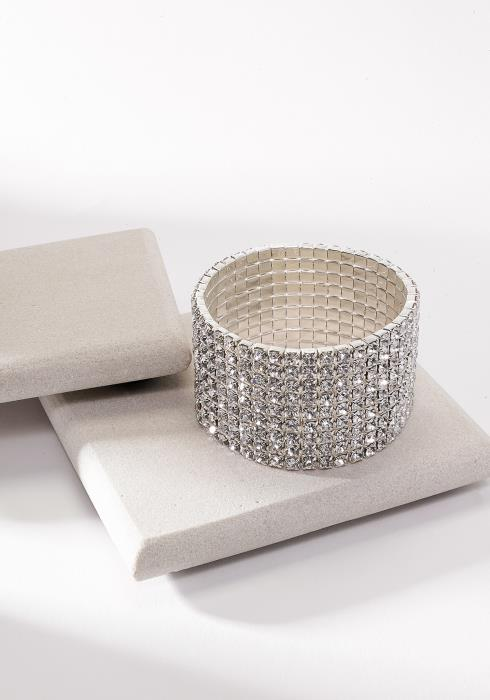 Cubic Thick Party Bracelet