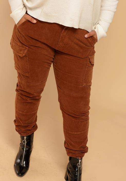 Asoph Plus Size Corduroy Pants
