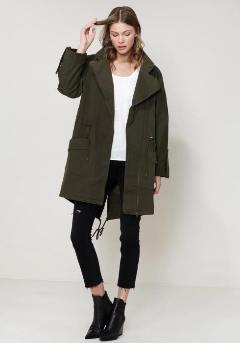Ro&De Noir Oversized Utility Jacket