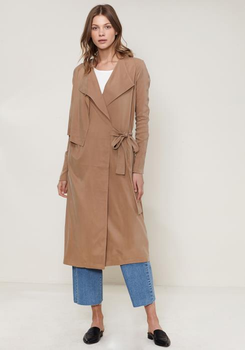 Ro&De Noir Wrap Trench