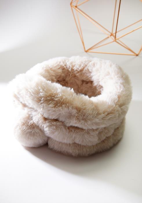 Faux Fur Wrap Scarf