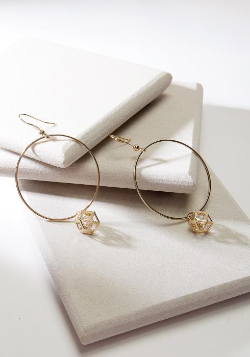 Hoop Cubic Earring