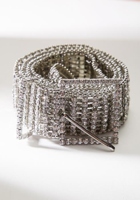 Cubic Studded Belt