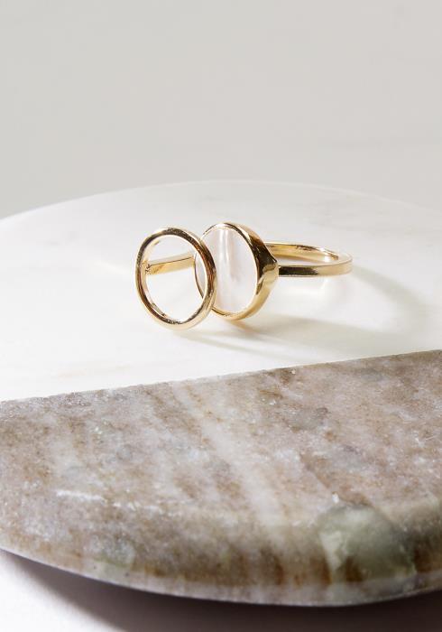 Opal Stone Fashion Ring