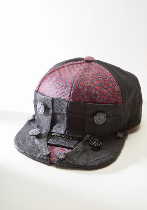 Kirlew Silk Crown Black Hat