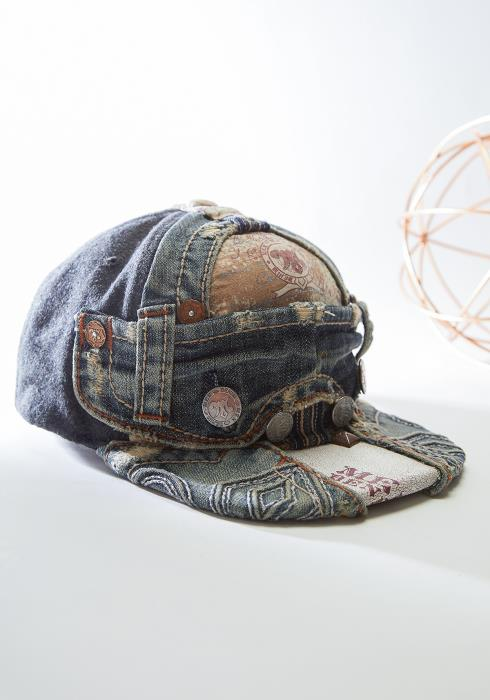 Kirlew Recycled Denim Hat