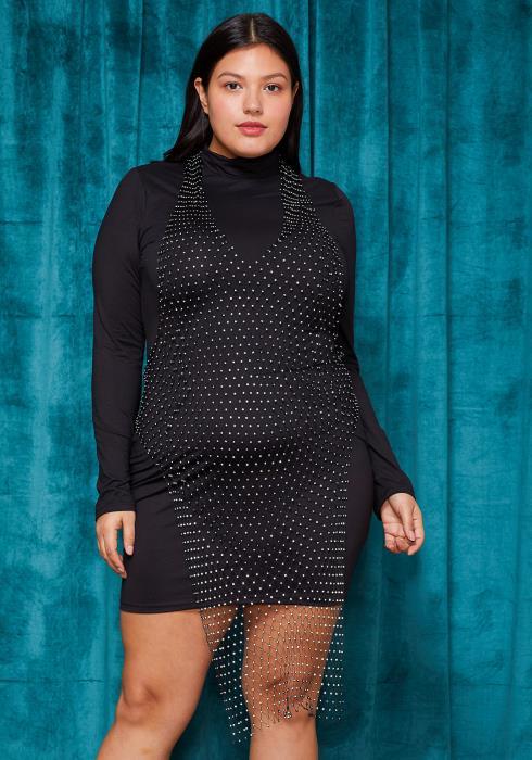Sharona Jewel Net Dress Necklace