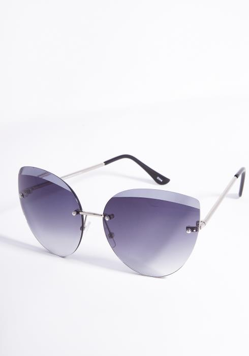 Nova Frameless Tinted Fashion Sunglasses