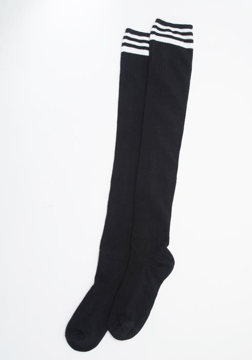 Stripe Knee High Socks