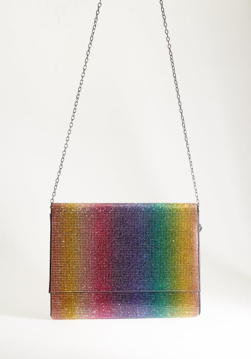 Rainbow Gradient Clutch