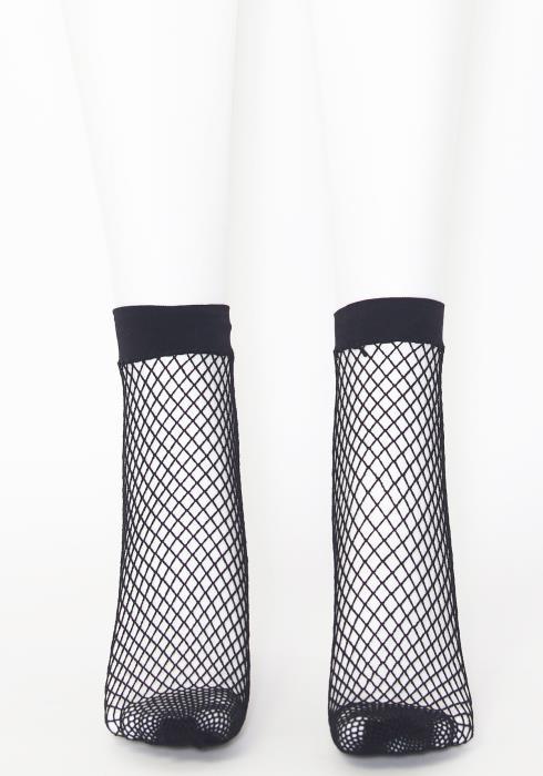 Ankle Fish Net Socks