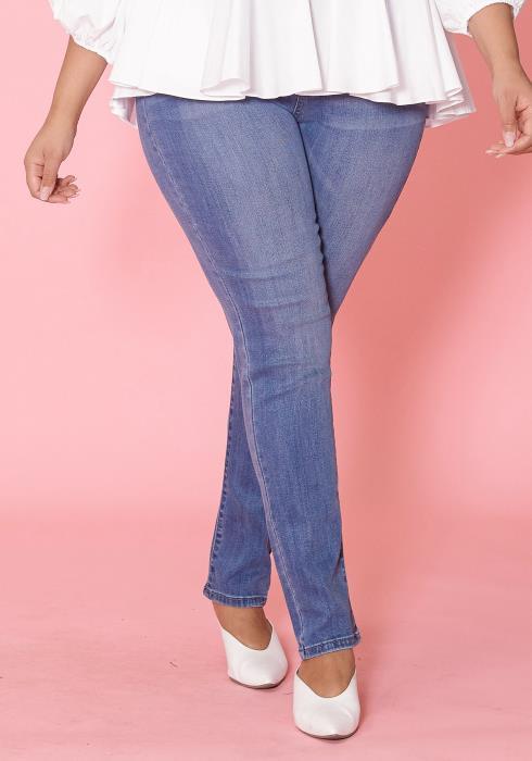 Asoph Plus Size Light Denim Skinny Jean
