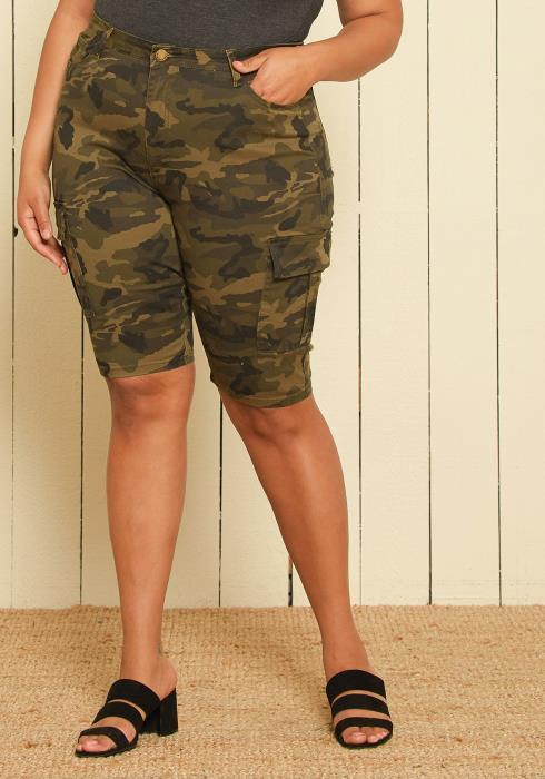 Asoph Plus Size Cargo Pants