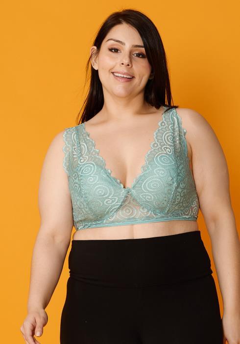 Asoph Plus Size Lace Bralette