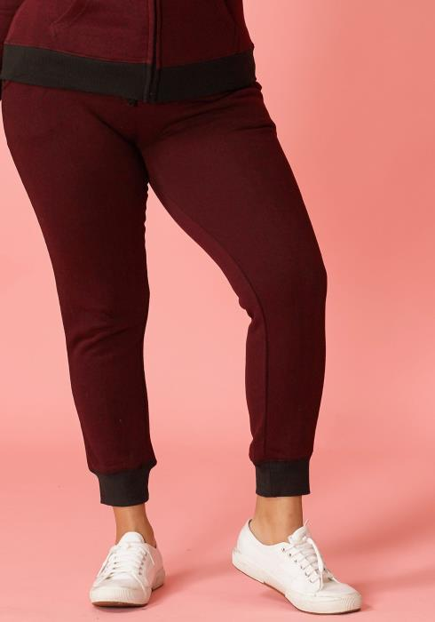 Asoph Plus Size Comfy Cuffed Sweatpants