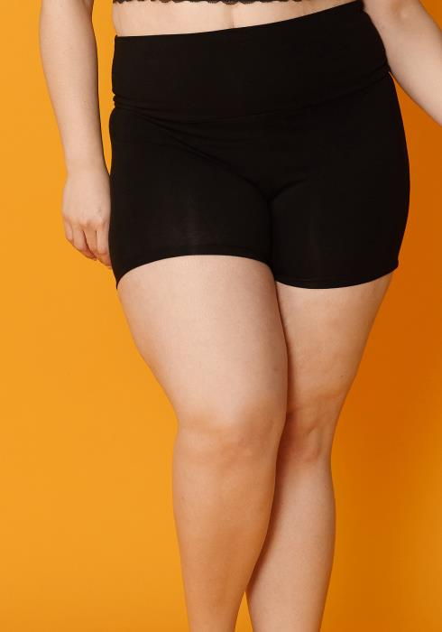 Asoph Plus Size Tummy Hugging Leggings Shorts