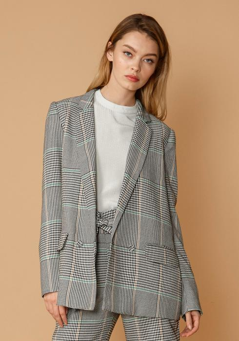 Nurode Glen Plaid Blazer
