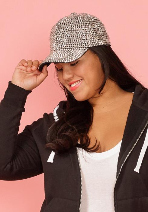 Cubic Studded Cap