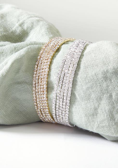 Elastic Cubic Bracelet