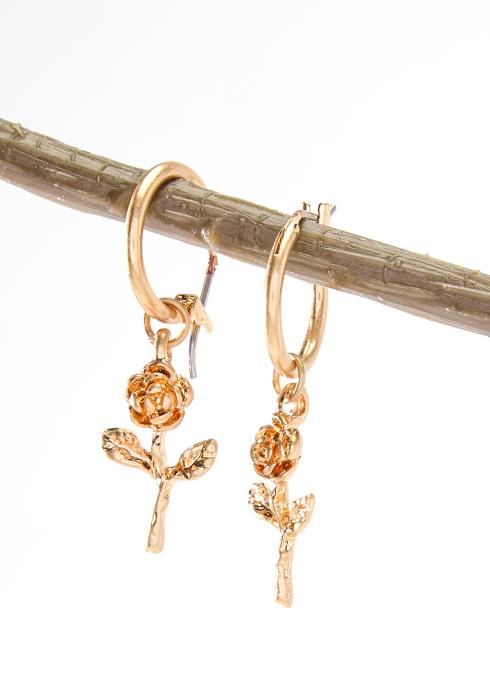 Rose Gold Crop Earring