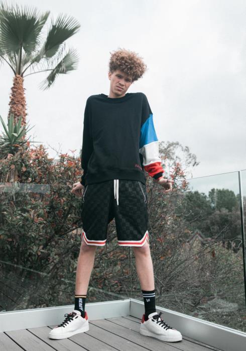 Konus Mens Color Blocked Sweatshirt / McQueen