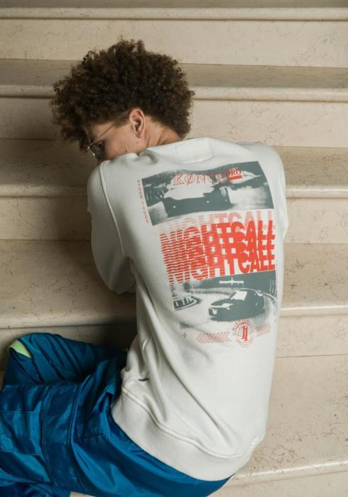 "Konus Mens ""NIGHTCALL"" Sweatshirt / Works"