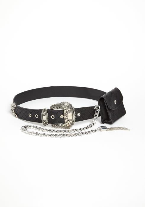Zainab Chained Wallet Belt