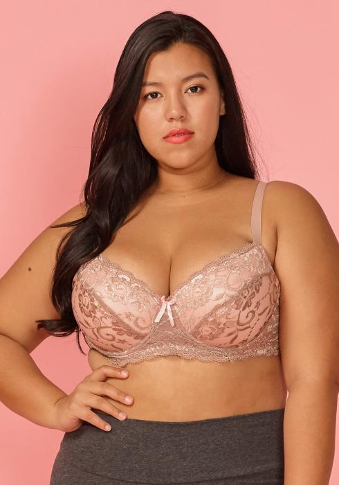 Asoph Plus Size Sexy Lace Bra