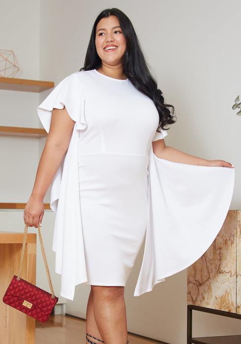 Asoph Plus Size Sheath Dress