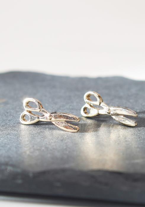Scissors Stud Earrings