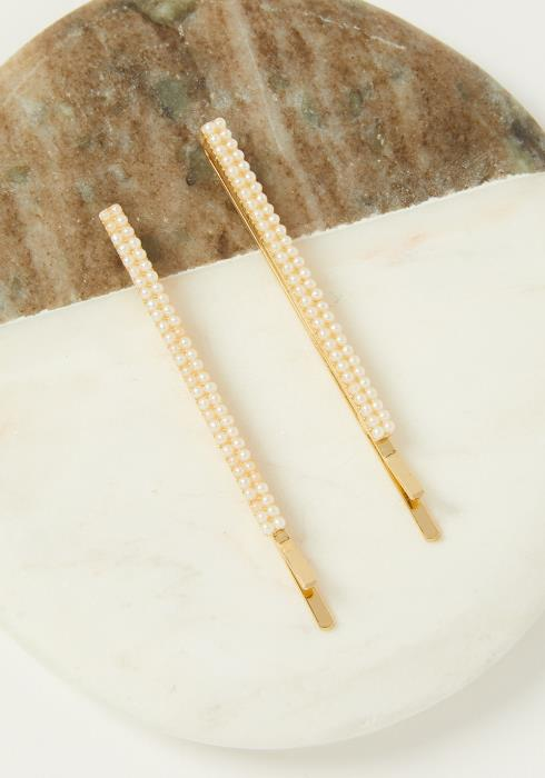 Pearl Studded Hair Pin