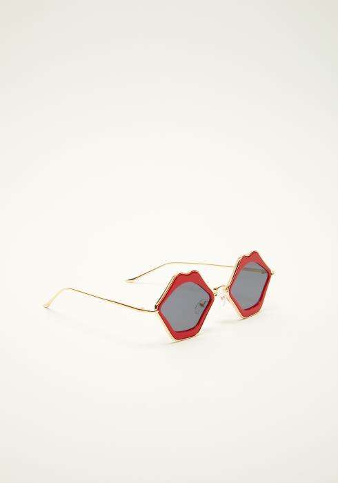 Retro Lip Frame Sunglasses
