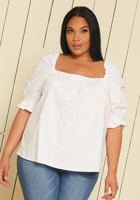 Asoph Plus Size Tunic Top